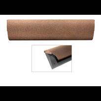 Cubic Colors briefplaat binnen met kunststof houder en luxe RVS klep in finish Bronze blend