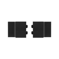 Deurstopper schuifdeursysteem Teho en Suuri zwart GPF0578.61