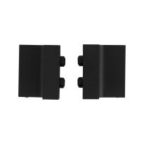 Deurstopper schuifdeursysteem zwart GPF0580.61