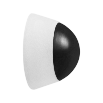GPF8724.62 wit deurstopper 38x25mm
