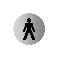 GPF0405.09 RVS pictogram 'Heren'