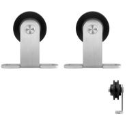 GPF0510.09 schuifdeurhanger set Osa RVS t.b.v. extra deur