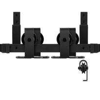 GPF0558.61 Dubbel schuifdeursysteem Mutka zwart