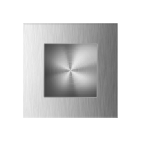 GPF0714.09 schuifdeurkom RVS geborsteld