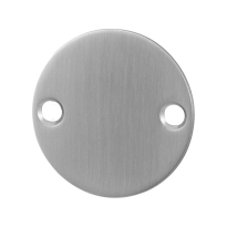 GPF0900.06 blinde rozet 50x2mm RVS geborsteld