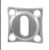 GPF0901.09 sleutelrozet 38x38x5mm RVS geborsteld