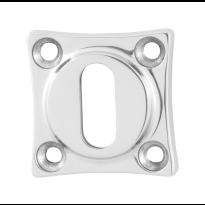 GPF0901.49 sleutelrozet 38x38x5mm RVS gepolijst