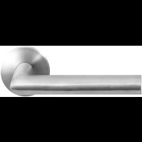 GPF1015.00 RVS deurkruk Toi op ronde rozet
