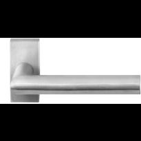 GPF1015.01 RVS deurkruk Toi op rechthoekige rozet
