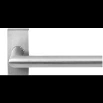 GPF1016.01 RVS deurkruk Toi op rechthoekige rozet