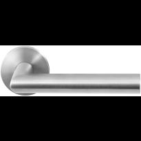 GPF1020.00 RVS deurkruk Mai op ronde rozet