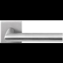 GPF1020.02 RVS deurkruk Mai op vierkante rozet