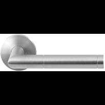 GPF1042.00 RVS deurkruk Kohu op ronde rozet