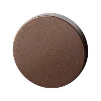 GPF1100.A2.0900 blinde rozet 50x8 mm Bronze blend