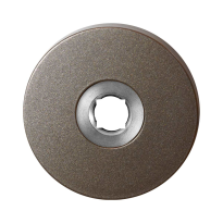 GPF1100.A3 rozet 50x8 mm Mocca blend