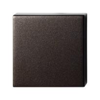 GPF1102.A1.0900 blinde rozet 50x50x8 mm Dark blend