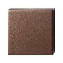 GPF1102.A2.0900 Blinde rozet 50x50x8 mm Bronze blend