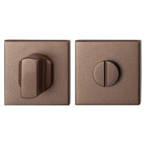 GPF1102.A2.0910 toiletgarnituur 50x50x8 mm stift 8 mm Bronze blend