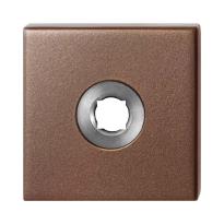 GPF1102.A2 rozet 50x50x8 mm Bronze blend