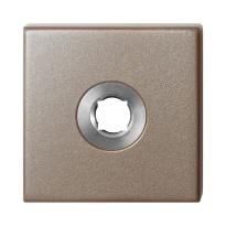 GPF1102.A3 rozet 50x50x8 mm Mocca blend