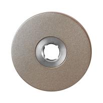 GPF1105.A3 rozet 50x6 mm Mocca blend