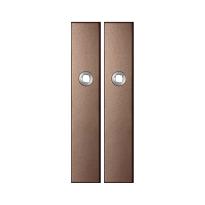 GPF1125.A2 langschild rechthoekig Bronze blend