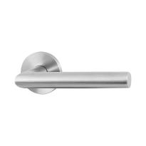 GPF115VR RVS deurkruk op rozet