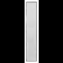 GPF1200.65 langschild rechthoekig RVS gepolijst