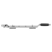 GPF4615.49 RVS pol/ebben raamuitz. ronde