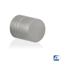 GPF5510 RVS meubelknop rond