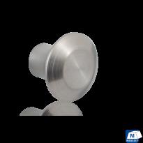 GPF5520 RVS meubelknop rond