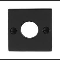 GPF6100.08 rozet 52x52x4mm smeedijzer zwart