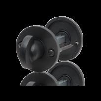 GPF6911.00 toiletgarnituur 53x5mm stift 5mm smeedijzer zwart