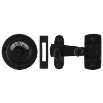 GPF6915.60 toiletgarnituur smeedijzer zwart stift 8mm