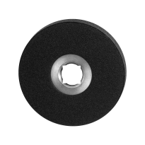 GPF8100.00 rozet 50x8mm zwart