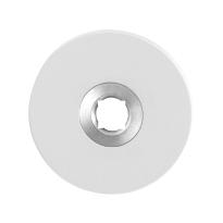 GPF8100.45 wit ronde rozet 50x6mm