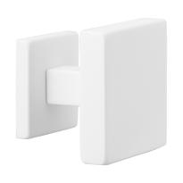 GPF8825.62 wit vierk. voordeurknop 70mm