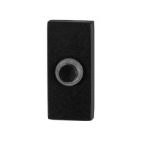 GPF8826.01 deurbel zwart rechthoekig 70x32x10mm
