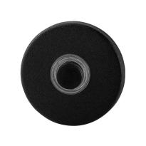 GPF8826.09 huisbel rond 50x8 mm zwart