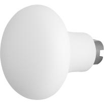 GPF8851.62 Paddenstoel knop veiligheidsschilden vast wit 52mm