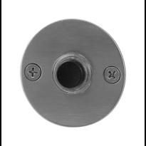GPF9826.06 voordeurbel rond 50x2 mm RVS geborsteld
