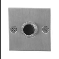 GPF9826.08 RVS deurbel vierkant 50x50x2 mm RVS geborsteld