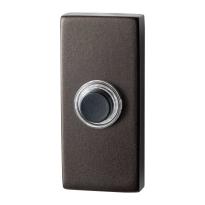 GPF9826.A1.1101 rechthoekige deurbel 70x32x10 mm Dark blend