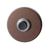 GPF9826.A2.1100 ronde voordeurbel 50x8 mm Bronze blend