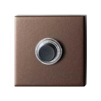 GPF9826.A2.1102 vierkante voordeurbel 50x50x8 mm Bronze blend