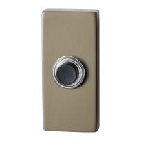 GPF9826.A4.1101 rechthoekige deurbel 70x32x10 mm Champagne blend