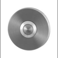 GPF9827.05 deur bel rond 50x6 mm RVS geborsteld