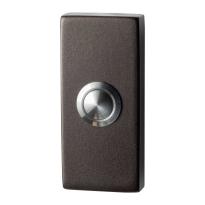 GPF9827.A1.1101 deurbel rechthoekig 70x32x10 mm Dark blend