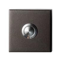 GPF9827.A1.1102 deurbel vierkant 50x50x8 mm Dark blend