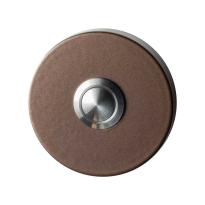 GPF9827.A2.1100 deurbel rond 50x8 mm Bronze blend
